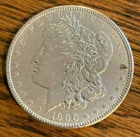 1900-P GORGEOUS PHILADELPHIA MINTED MORGAN SILVER DOLLAR----90 SILVER