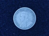 BS 79: CANADA NEW FOUNDLAND SILVER 10 CENTS DATED 1917 C