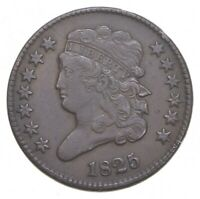 1825 CLASSIC HEAD HALF CENT   JACOBS COIN COLLECTION  548