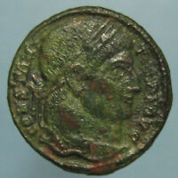 CONSTANTINE THE GREAT CAMP GATE FROM SISCIA   ATTRACTIVE GREEN AND RED PATINA