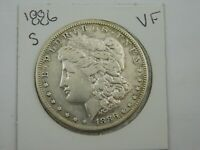 1886 S MORGAN SILVER DOLLAR VF C4/123