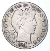 BETTER COIN 1911 BARBER HALF DOLLAR   LOOK IT UP   275