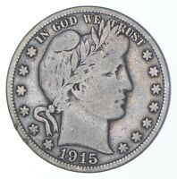 BETTER COIN 1915 S BARBER HALF DOLLAR   LOOK IT UP   277