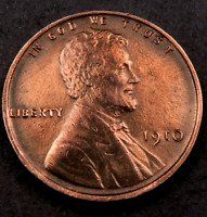 1910 LINCOLN WHEAT CENT CENT // GEM BU RED // W3340
