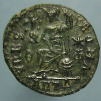 HIGH GRADE VALENTINIAN II VRBS ROMA AE 3 FROM THE ANTIOCH MINT