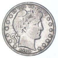 BETTER COIN 1903 O BARBER HALF DOLLAR   LOOK IT UP   280
