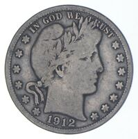 BETTER COIN 1912 S BARBER HALF DOLLAR   LOOK IT UP   287