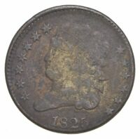 1825 CLASSIC HEAD HALF CENT   CHARLES COIN COLLECTION  108