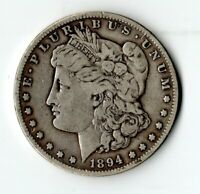 UNITED STATES SILVER DOLLAR 1894-S