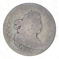 1805 DRAPED BUST DIME 7232