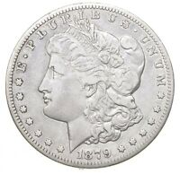 1879-CC MORGAN SILVER DOLLAR 0444