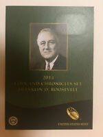 2014 US MINT FRANKLIN D. ROOSEVELT COIN AND CHRONICLES SET