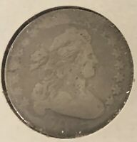 1807 DRAPED BUST LARGE EAGLE DIME GOOD