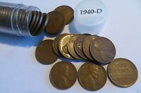 1 ROLL 1940 D CIRCULATED LINCOLN WHEAT CENTS  AN OFFER WOULD BE CONSIDERED