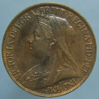 RED & BROWN UNCIRCULATED 1897 VICTORIA