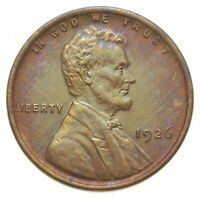 1926 LINCOLN WHEAT CENT 0495