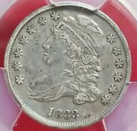1833 10C. CAPPED BUST DIME PCGS XF 40