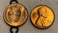 1953 S LINCOLN WHEAT CENT  MS/BU RED LINCOLN COIN CHOICE