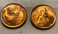 1944 D LINCOLN WHEAT CENT  MS/BU FULL RED LINCOLN COIN CHOICE