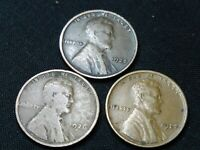 1925-1926-1927 P  LINCOLN HEAD PENNY  SHIPS FREE