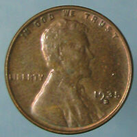 1935-S LINCOLN WHEAT CENT -  BROWN UNCIRCULATED