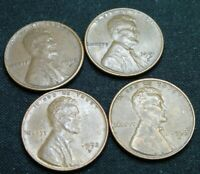 1950, 1951, 1952, 1953 D  LINCOLN PENNY'S   SHIPS FREE