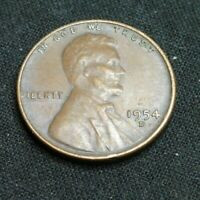 1954  D   LINCOLN PENNY'S     SHIPS FREE