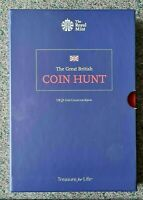 MINT CONDITION GREAT BRITISH COIN HUNT UK 1 ALBUM HOLDS 48 COINS THE ROYAL MINT