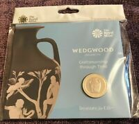 SEALED 2019 ROYAL MINT WEDGWOOD 2 COIN PACK BRILLIANT UNCIRCULATED