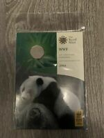 SEALED 2011 ROYAL MINT WWF 50TH ANNIVERSARY BRILLIANT UNCIRCULATED 50P COIN