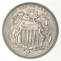 1866 SHIELD NICKEL 6162