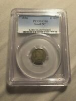 1836 CAPPED BUST HALF DIME H10C SMALL 5C PCGS GENUINE