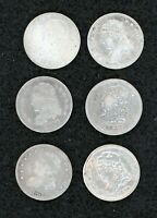 1830 1831 1832 1833 1834 1835 CAPPED BUST HALF DIMES LOT OF