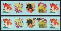 5370A CORAL REEFS PNC AQUA COLOR OMITTED NEW ERROR AS SEEN IN LINN'S 2/22/2021