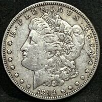1894 O MORGAN SILVER DOLLAR EXTRA FINE  NEW ORLEANS MINT COIN BETTER DATE