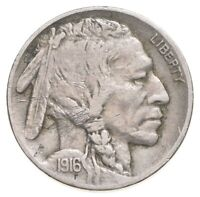 1916 INDIAN HEAD BUFFALO NICKEL   CHARLES COIN COLLECTION  3