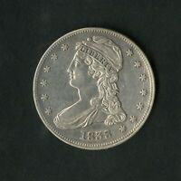 US COIN 1838 CAPPED BUST SILVER HALF DOLLAR