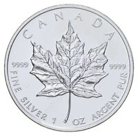 BETTER DATE   2010 CANADA $5   1 OZ. SILVER MAPLE LEAF   SIL