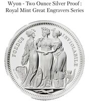 THREE GRACES 2020 UK TWO OUNCE SILVER PROOF COIN   PRE ORDER
