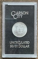 1882 CARSON CITY UNCIRCULATED SILVER DOLLAR US MINT PACKAGING