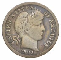 1903 O BARBER DIME   CHARLES COIN COLLECTION  603