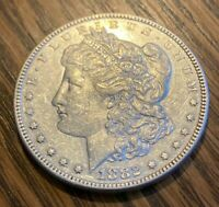 1882-P BEAUTIFUL PHILADELPHIA MINTED MORGAN SILVER DOLLAR----90 SILVER