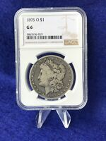 1895-O  MORGAN SILVER DOLLAR 1$