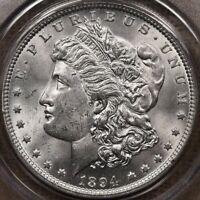 1894 MUCH BETTER DATE MORGAN DOLLAR PCGS MS61 OGH SWEET PQ