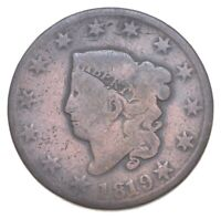 BETTER 1819 MATRON HEAD US LARGE CENT PENNY COIN COLLECTION