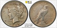 1922 PCGS VF 30 SILVER PEACE DOLLAR PCGS CERTIFIED WITH TRUEVIEW