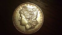 1880-P  PHILADELPHIA MORGAN SILVER DOLLAR 90 SILVER  - GREAT INVESTMENT