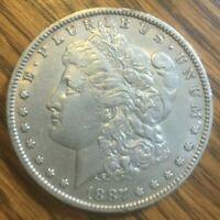 1887-O EARLY NEW ORLEANS MORGAN SILVER DOLLAR 90 SILVER  - GREAT INVESTMENT