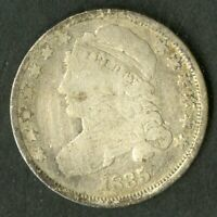US COIN 1835 CAPPED BUST SILVER DIME