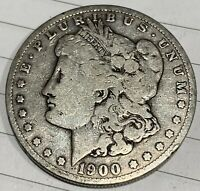 1900-O NEW ORLEANS MORGAN SILVER DOLLAR 90 SILVER  - GREAT INVESTMENT